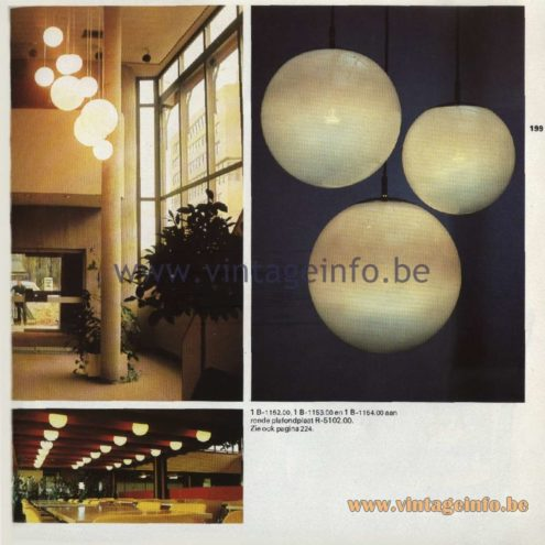 Raak Pendant Lamps & Chandeliers Ochtendnevels - Morning Dew B-1152.00, B-1153.00, B-1154.00