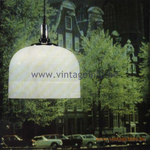 Raak Catalogue 11, 1978 - Raak Pendant Lamp B-1142.00