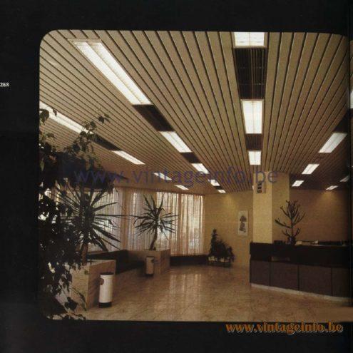 Raak Catalogue 11, 1978 - Raak Recessed TL Lights (fluorescent lamps)