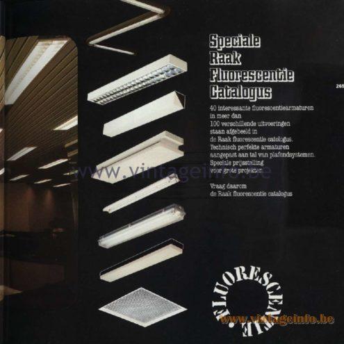 Raak Catalogue 11, 1978 - Speciale Raak Fluorescentie Catalogus