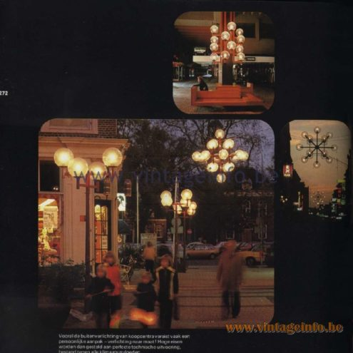 Raak Catalogue 11, 1978 – All special lighting created by Raak on demand
