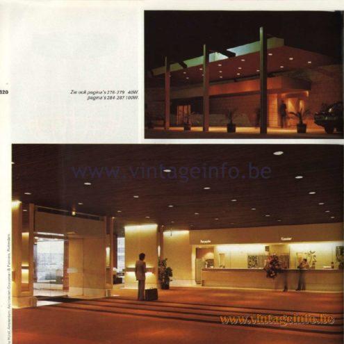 Raak Catalogue 11, 1978 - Raak Recessed Ceiling Lamps