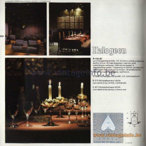 Raak Catalogue 11, 1978 - Halogeen - halogen - R-432.00
