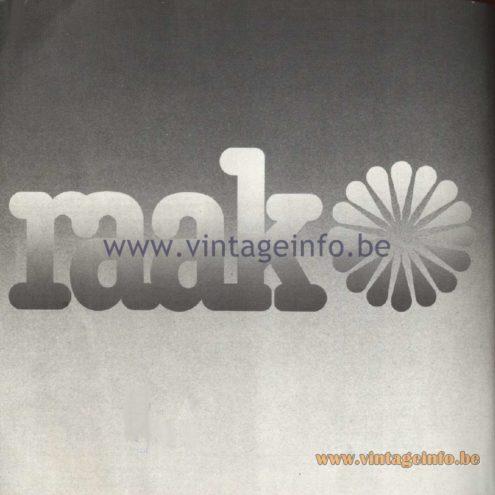 Raak Catalogue 11, 1978
