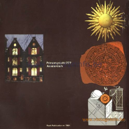 Raak Catalogue 11, 1978 - Prinsengracht 777, Amsterdam, The Netherlands