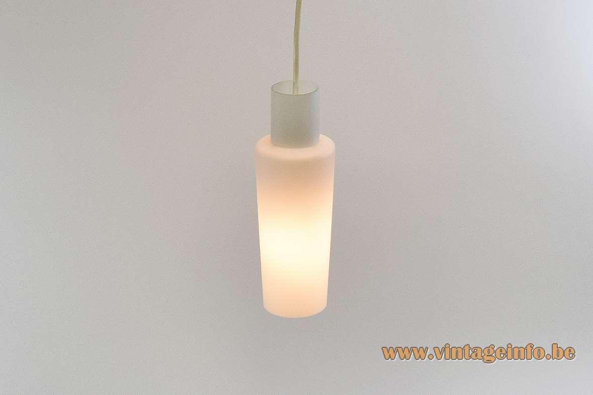 Raak Opaque Glass Pendant Lamp