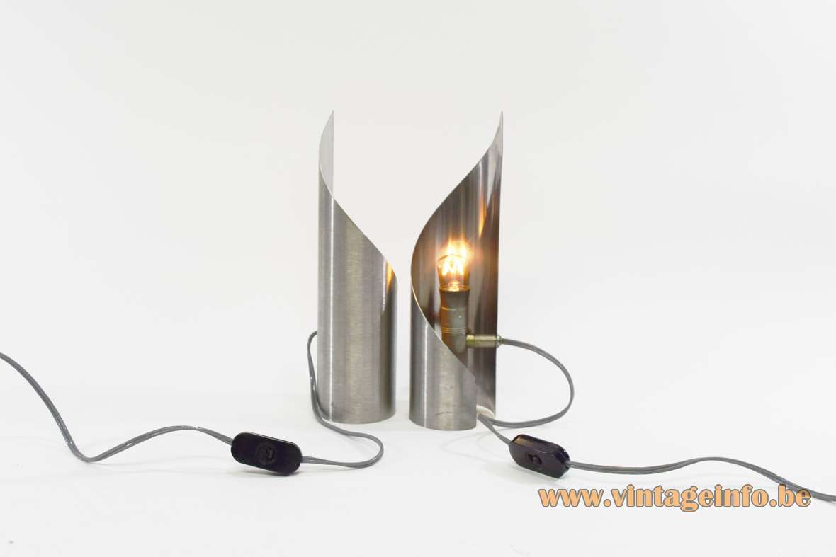 Stainless steel table lamps vintage info all about vintage lighting stainless steel table lamps aloadofball Images