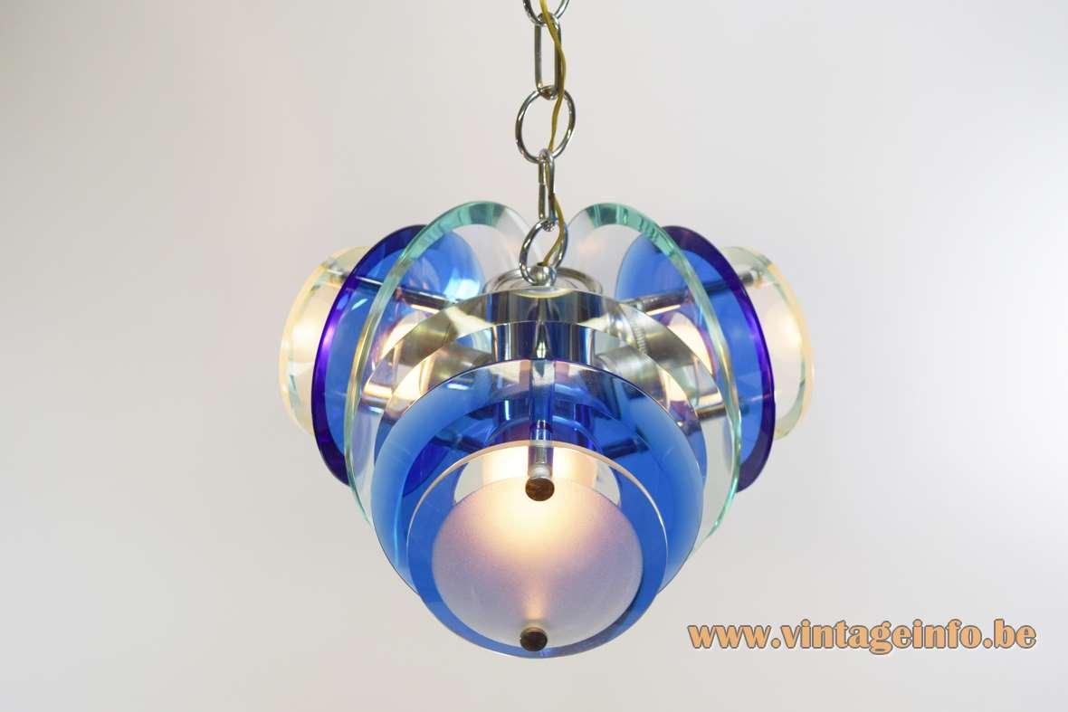 Veca 1960s Crystal Glass Chandelier Vintage Info All