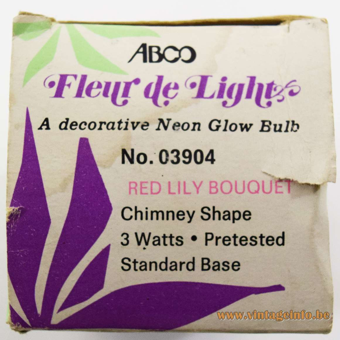 Fleur de Light ABCO Light Bulbs - Box