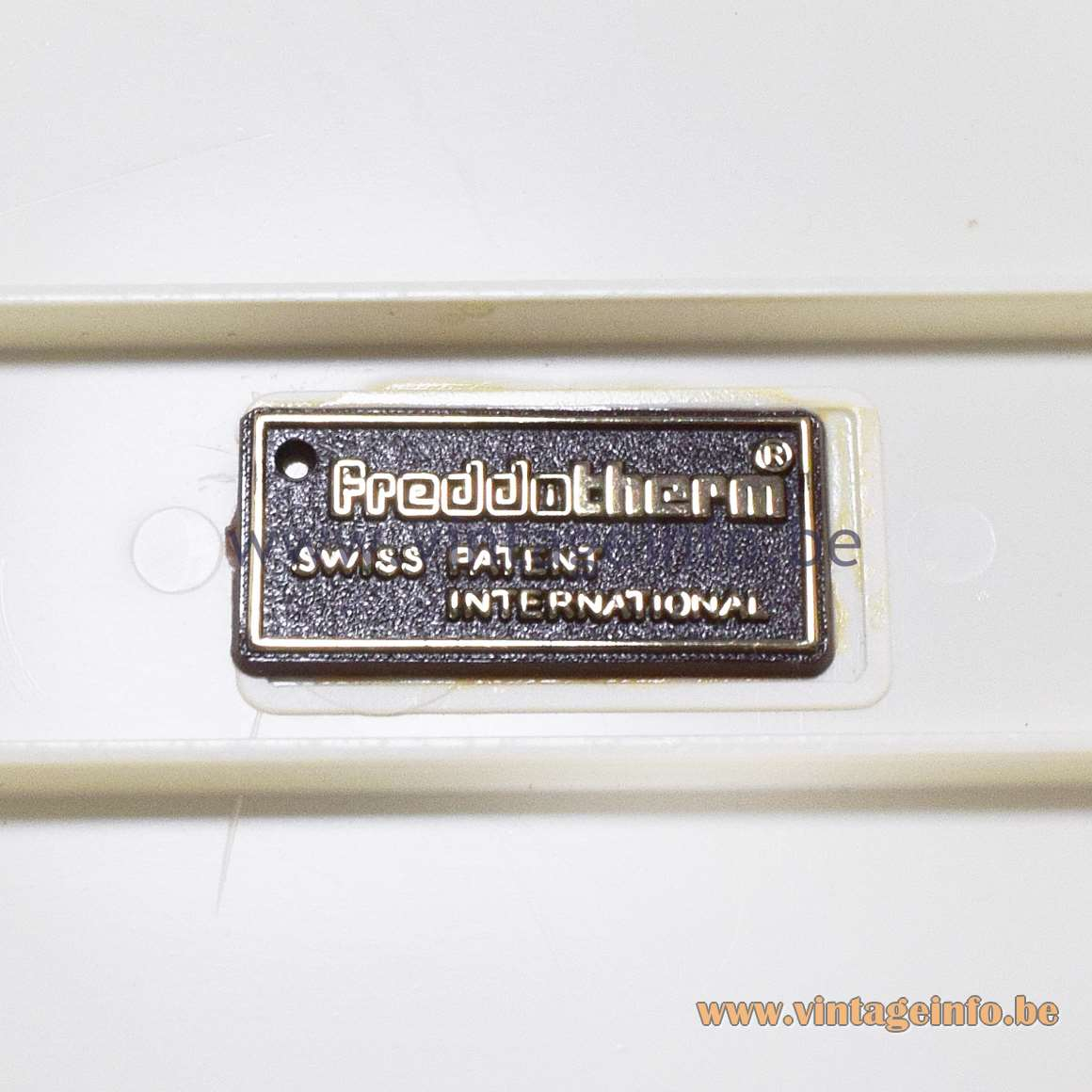 Freddotherm label - Swiss Patent International