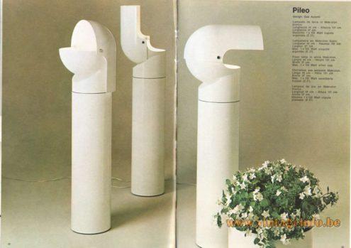 Artemide Pileo Floor Lamp, Design: Gae Aulenti