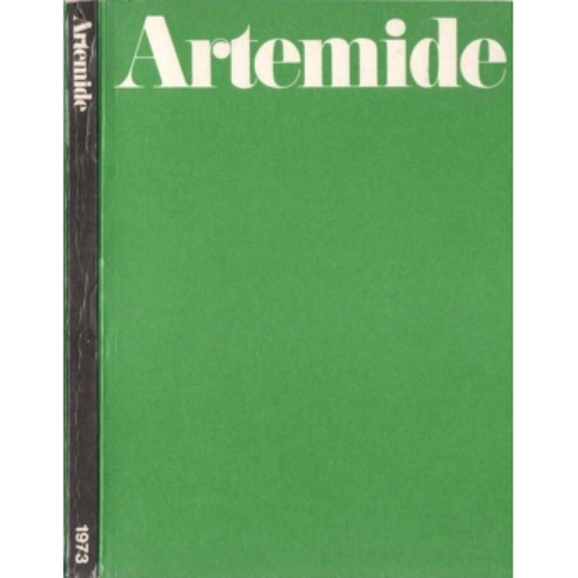 Vintage Lighting Catalogues - Artemide Catalogue 1973