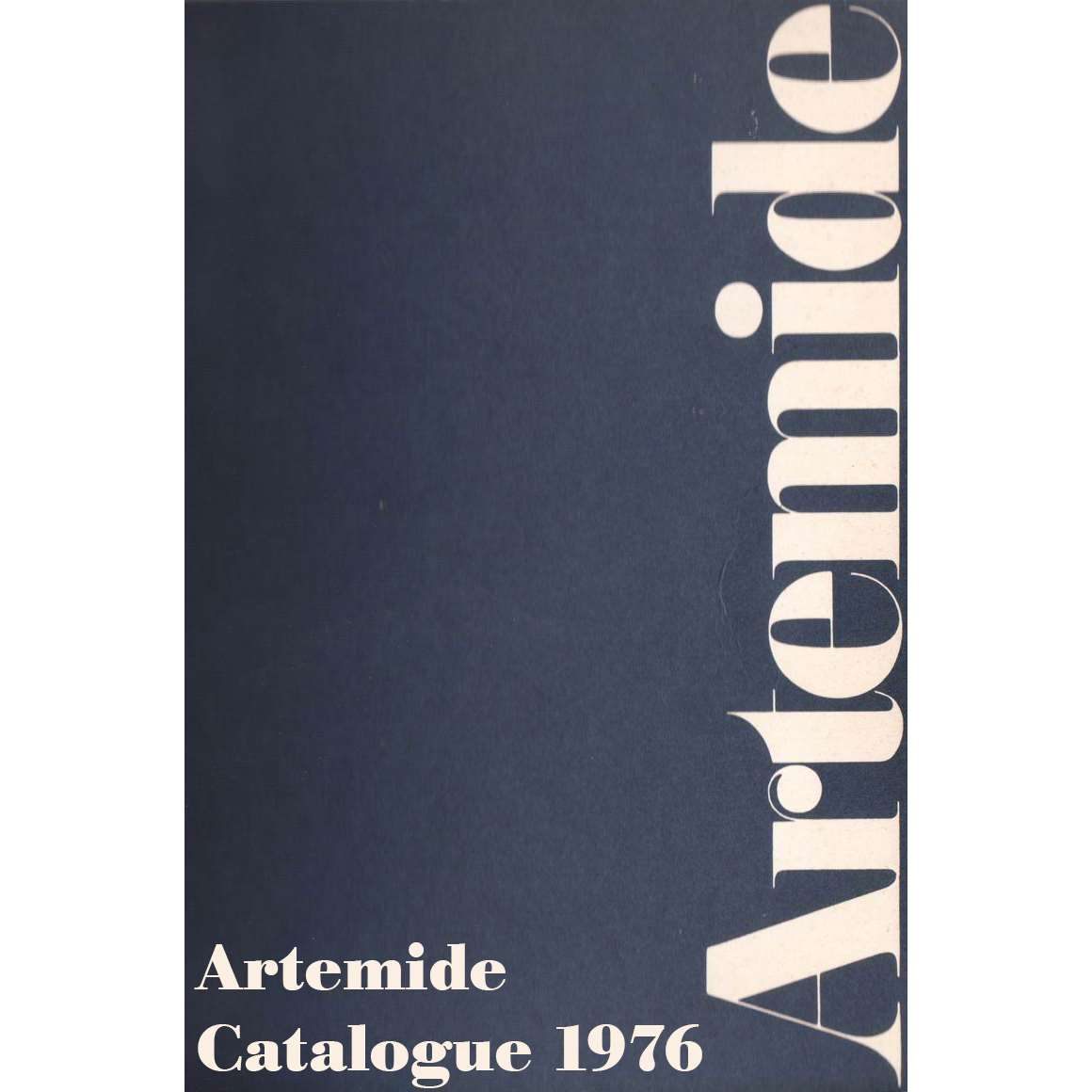 Vintage Lighting Catalogues - Artemide Catalogue 1976