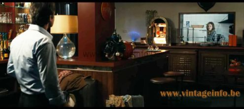 Fibre optic table lamp used as a prop in the 2012 French film 10 Jours en Or