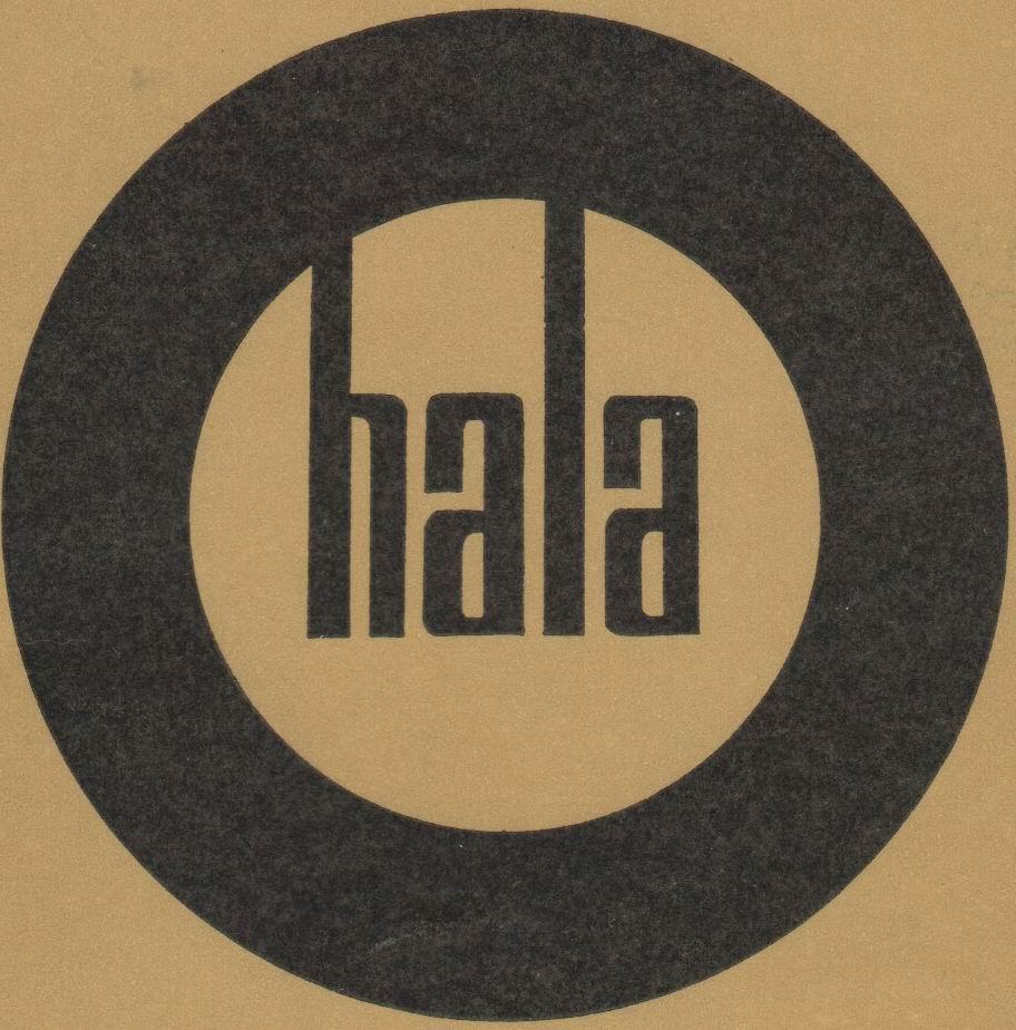 Vintage Lighting Catalogues - Hala Light Catalogue 1967