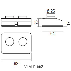 VLM Switch D-662 scheme