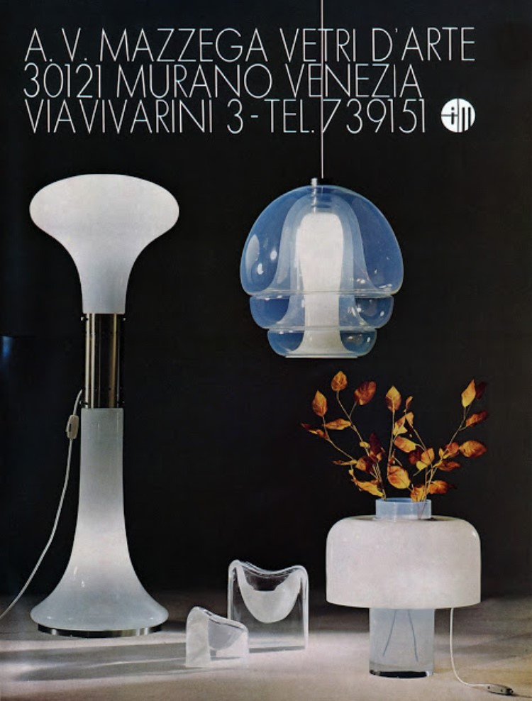 AV Mazzega 1970s Publicity