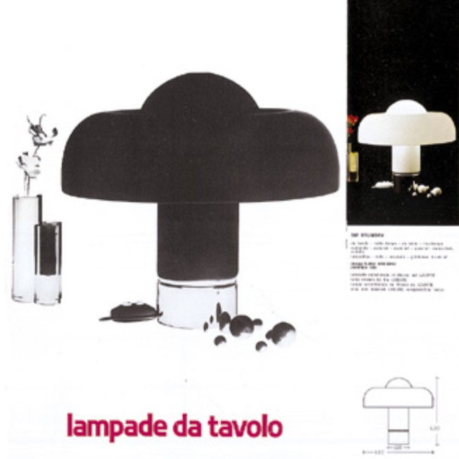 Harvey Guzzini Brumbry table lamp - catalogue picture