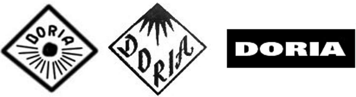Doria logo, marke, sticker, label