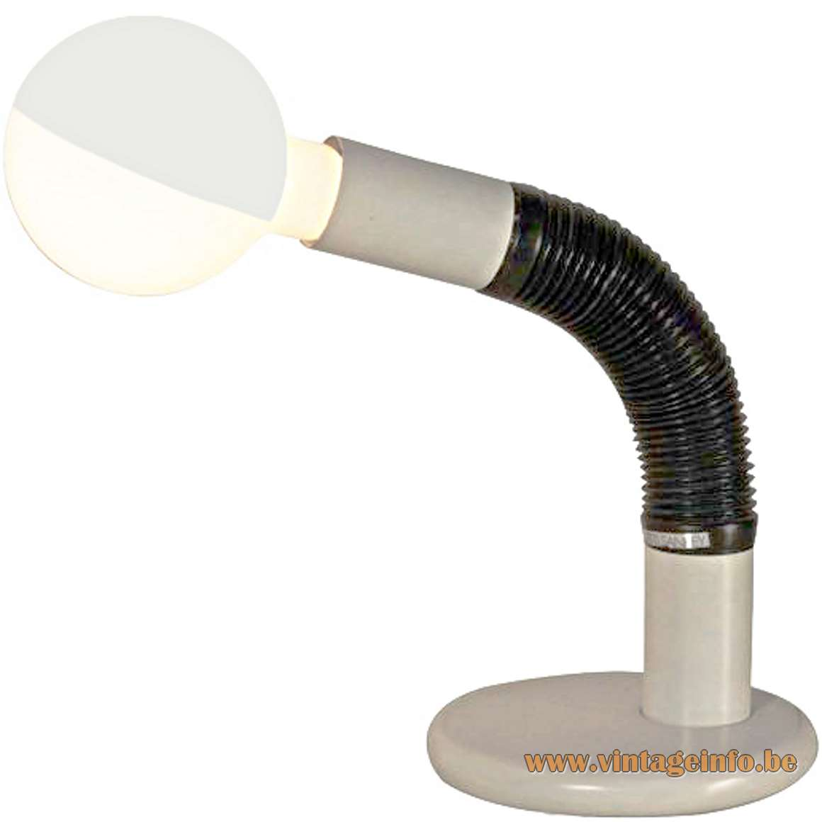 Targetti Sankey Elbow Desk Lamp - white version