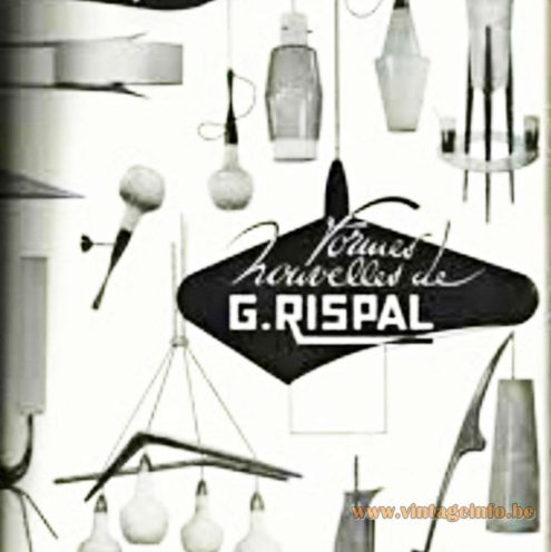 1950s Rispal advertisement - Formes Nouvelles de G. Rispal - New Forms of G. Rispal