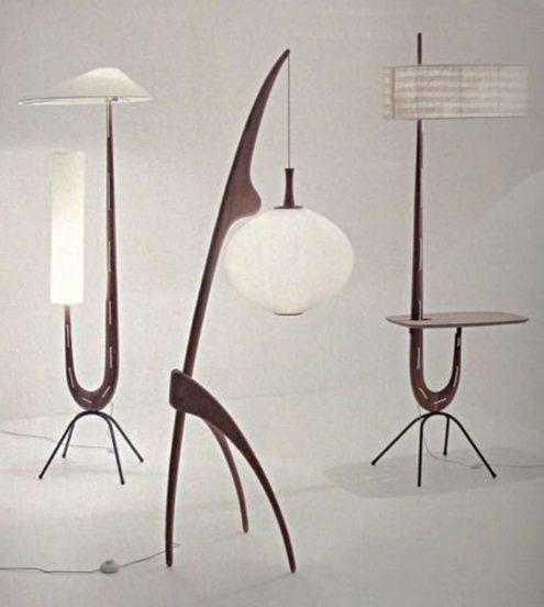 Rispal floor lamps, no.14 is the lamp in the middle