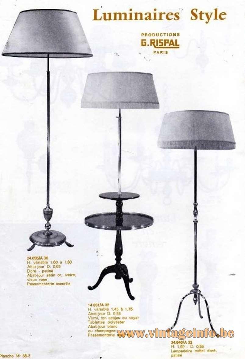 G. Rispal Luminaires - Floor Lamps