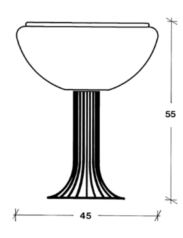 Harvey Guzzini Moana Table Lamp sketch