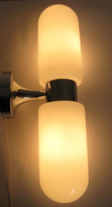 Hustadt-Leuchten Crystal Glass Pendant Lamp - Hustadt-Leuchten Wall Lamp