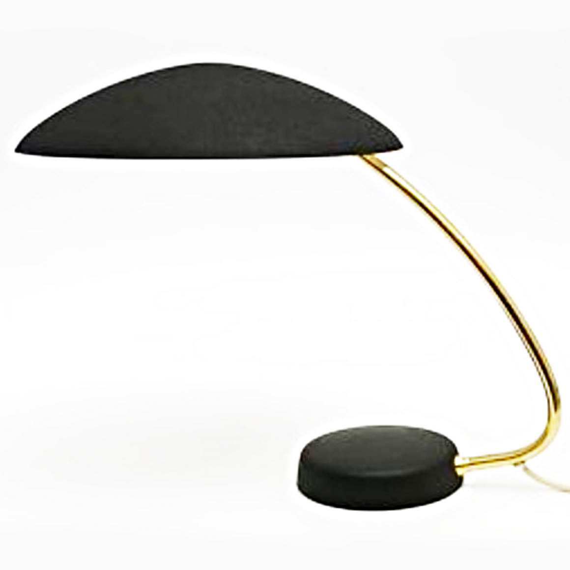 1950s Cosack Desk Lamp - Black version - Produced by Gebrüder Cosack (Gecos)