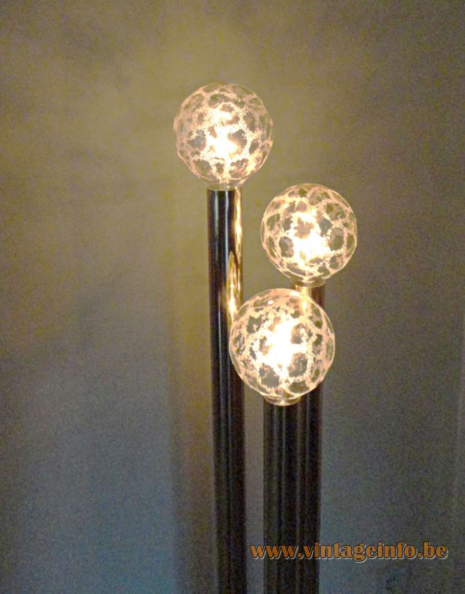Gaetano Sciolari Brass Floor Lamp