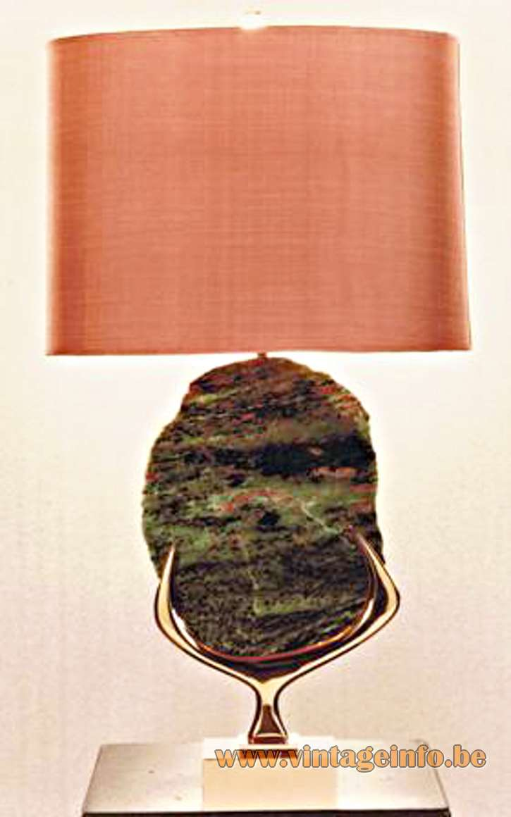 Agate Table Lamp - Willy Daro Table Lamp