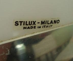 Stilux Rise & Fall Acrylic Pendant Lamp - Stilux Milano label