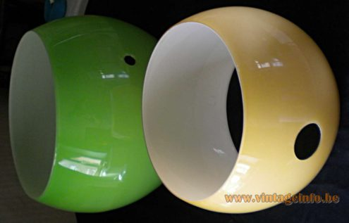 AV Mazzega Eclipse Pendant Lamp - in parts