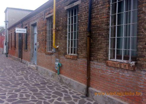 AV Mazzega old factory, Calle Alvise Vivarini, Murano, Venice, Italy, October 2014