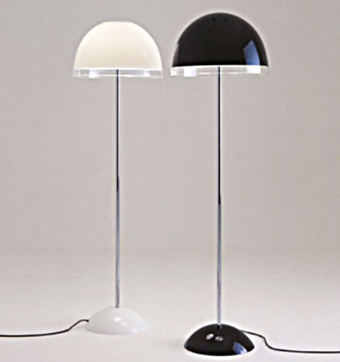 iGuzzini Baobab Floor Lamps - white & black