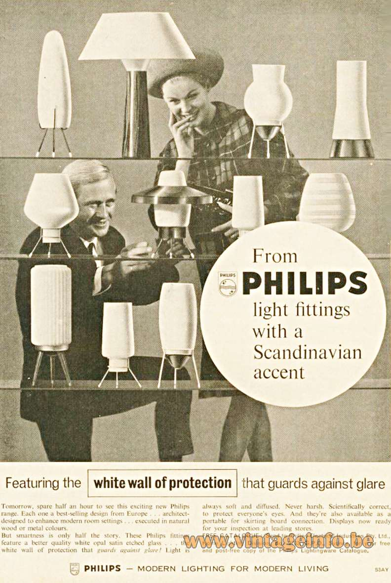 Philips 1950s Advertisement
