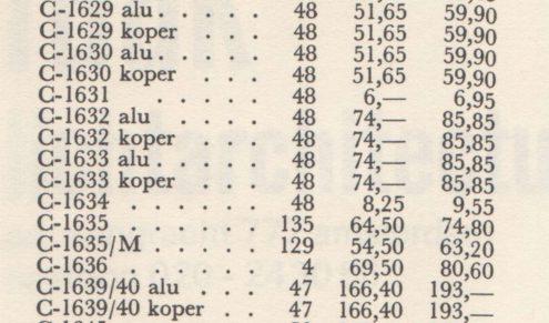 """Raak Fuga Wall Lamp - Design Maja Liisa Komulainen - Brushed aluminium """"organ"""" pipes Pricing 1973"""