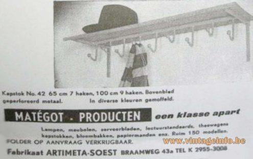 Artimeta Matégot Advertisement