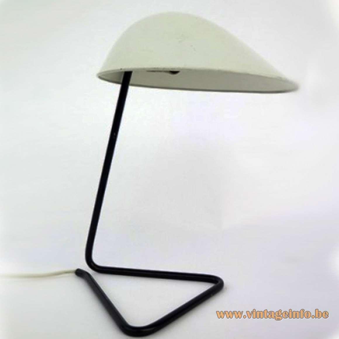 BAG Turgi Switzerland Desk or Wall Lamp 1950s