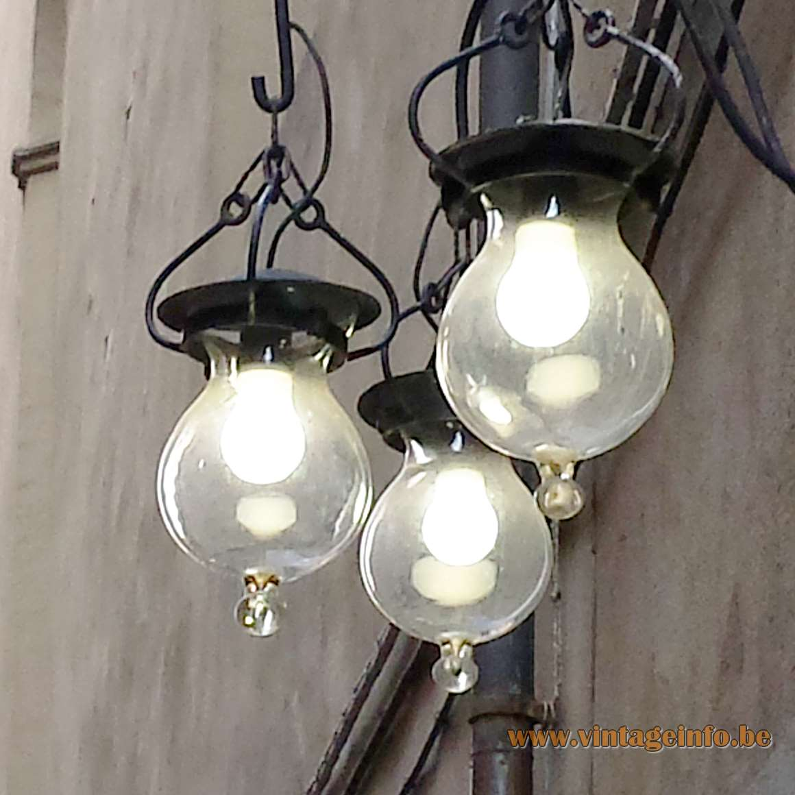 Florence Italy Droplet Street Lights