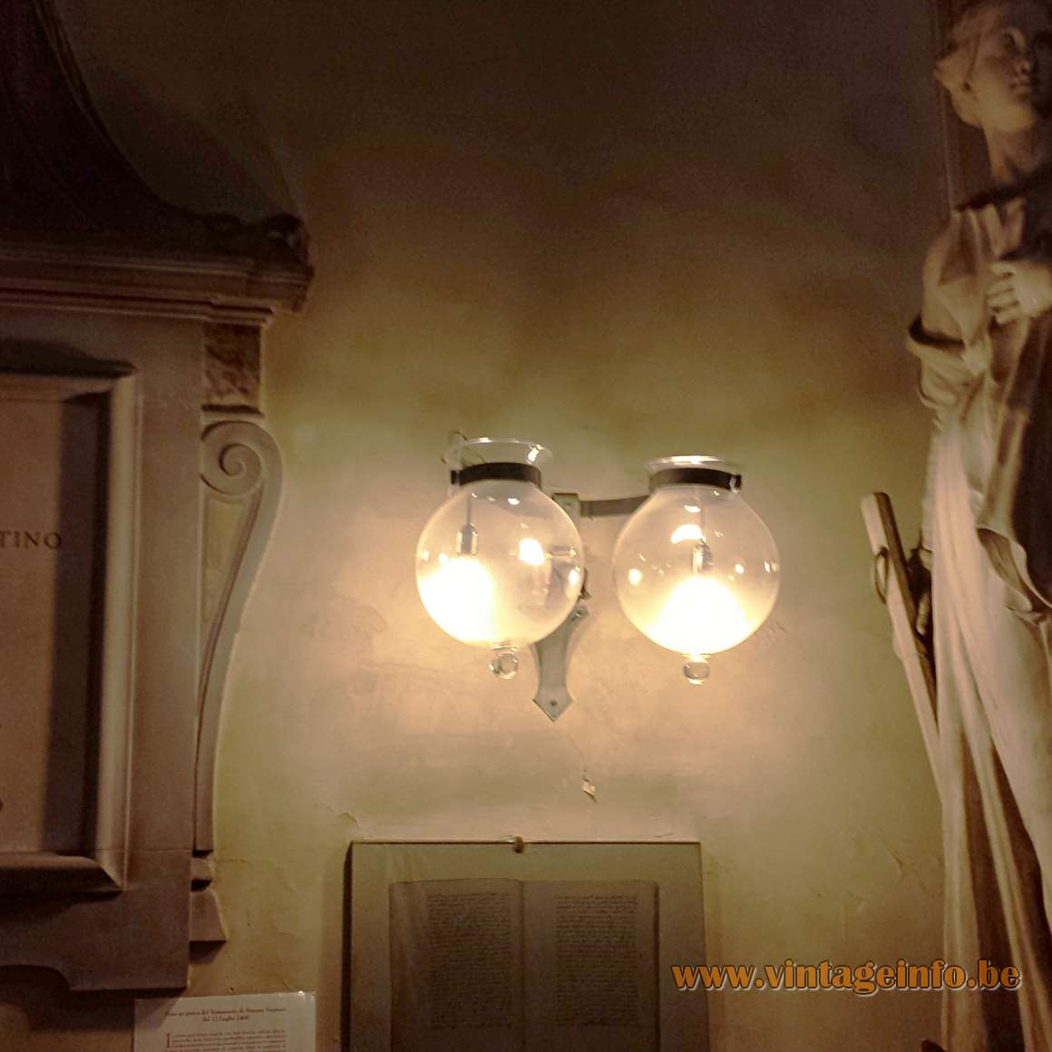 1970s Florentine Droplet Chandelier - Florence Wall Light