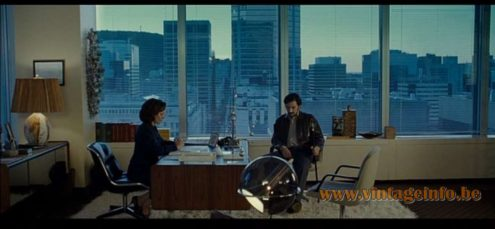 Raak Globe Floor Lamp used as a prop in the film L'instinct De Mort (2008) - Lamps in the movies!