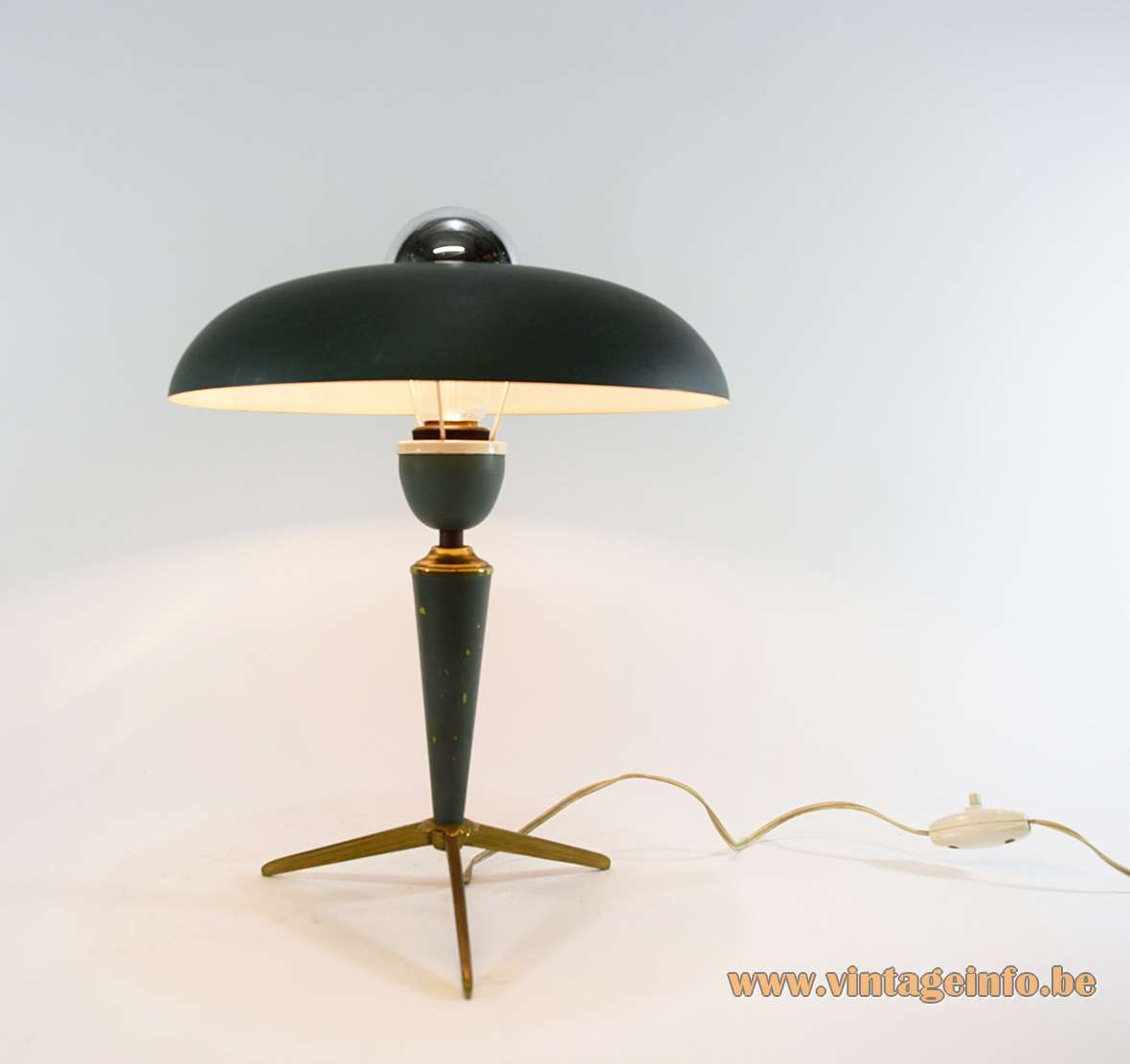Louis Kalff Bijou Table Lamp Vintage Info All About
