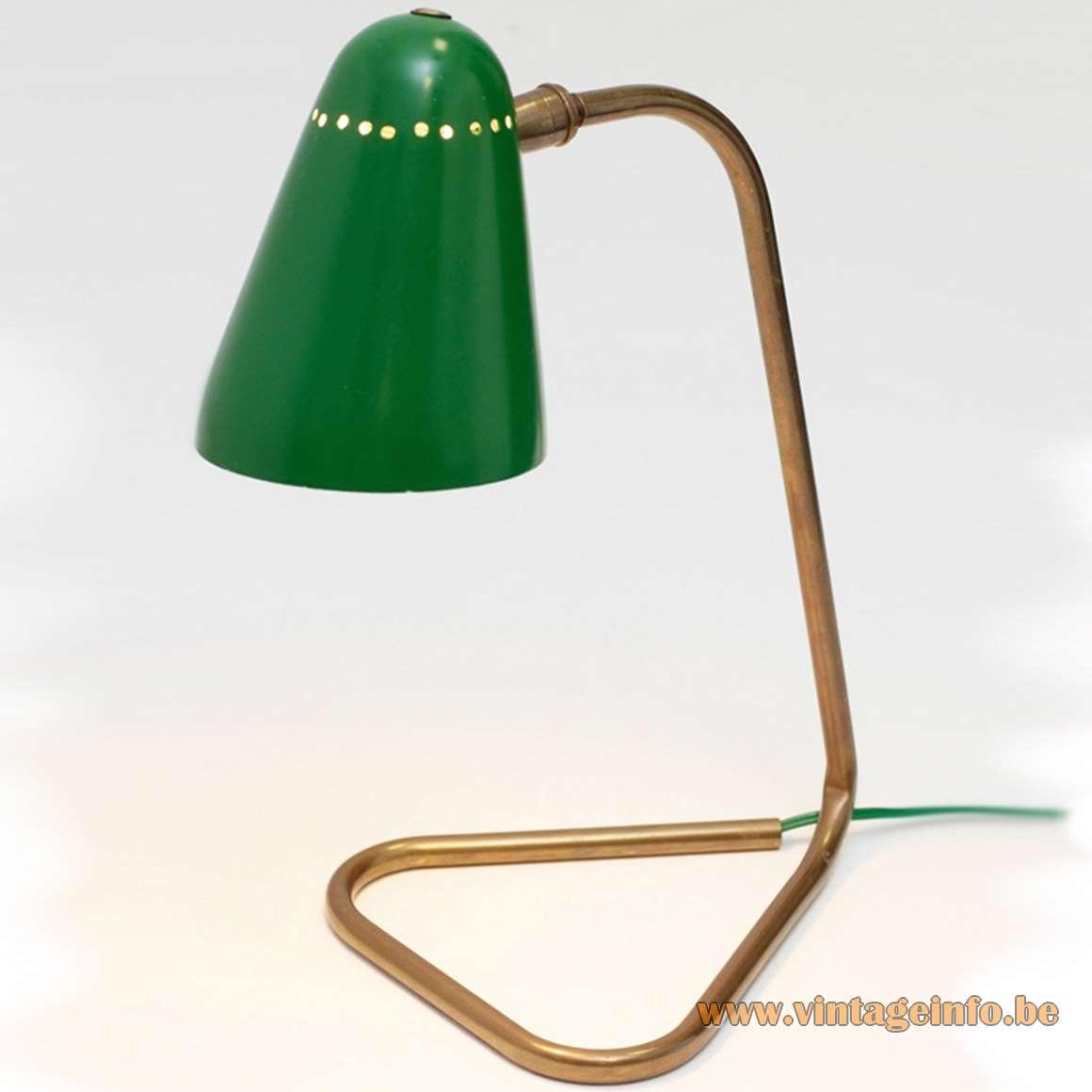 Robert Mathieu Desk or Wall Lamp 1954