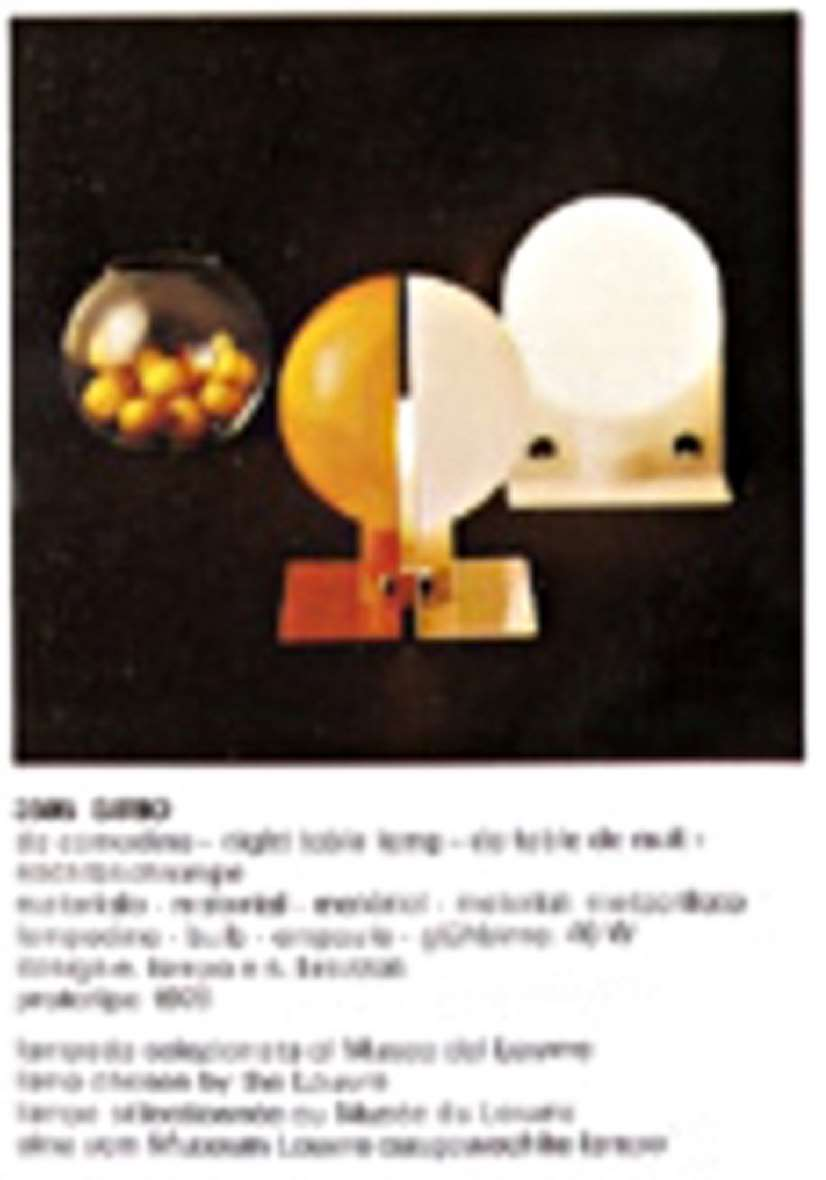 Harvey Guzzini Sirio Table Lamps - Catalogue