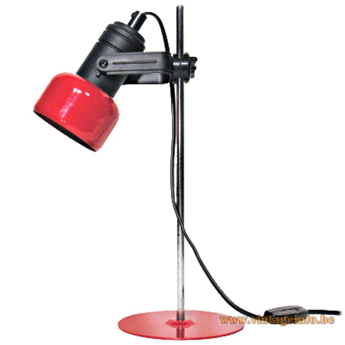 Vanilla Eyeball Desk Lamp - Neweba Red Desk Lamp