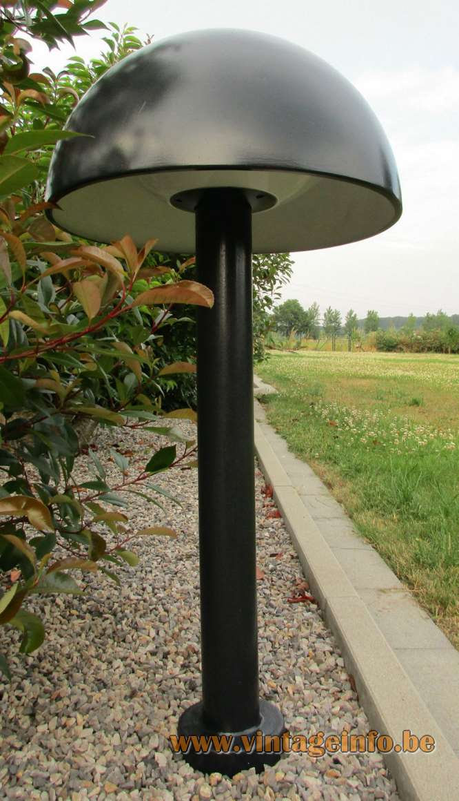 BEGA Mushroom Garden Lamps - Model 9320 in black