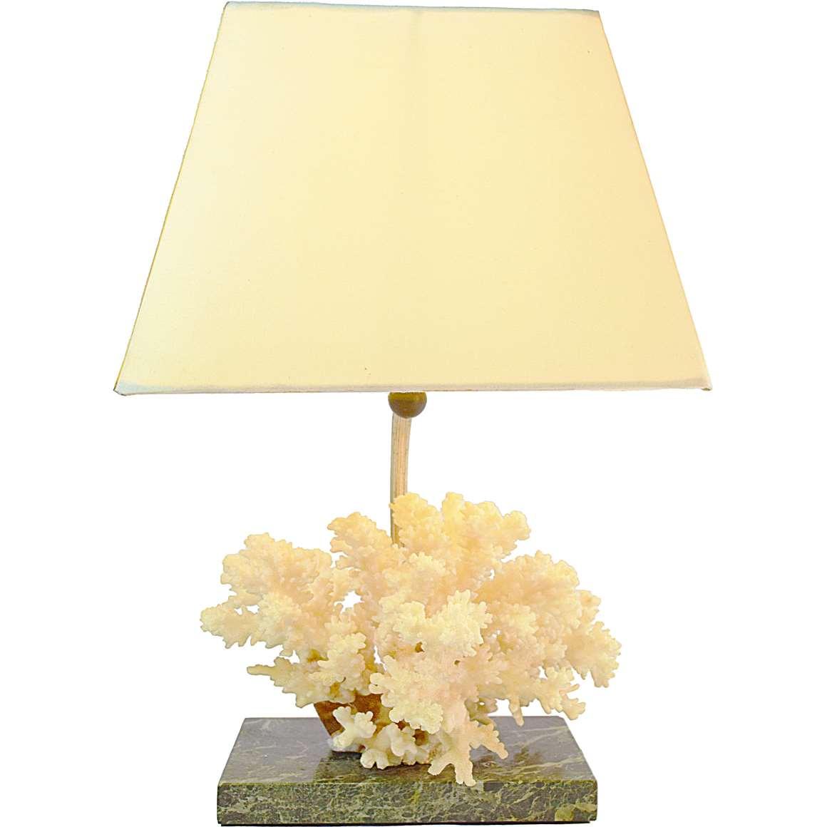 Cauliflower Coral Table Lamp