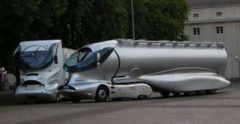 Luigi Colani Truck